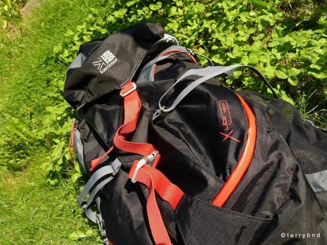 Karrimor X-Lite 45+10 rucksack 2012