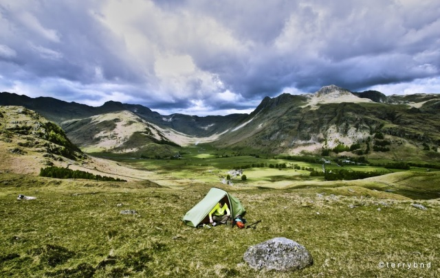 Wild camping with the Vango Helium 100, Lake District National Park