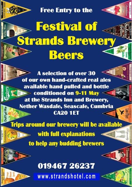 The Strands Inn Lake District Beer Festival
